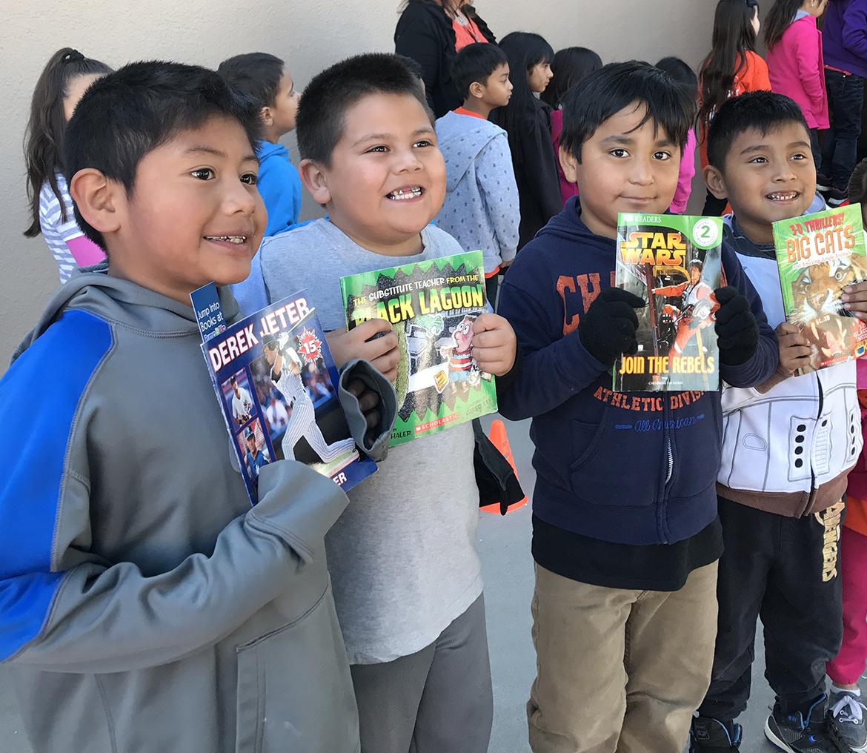 Reading Heart A Book Donation Program