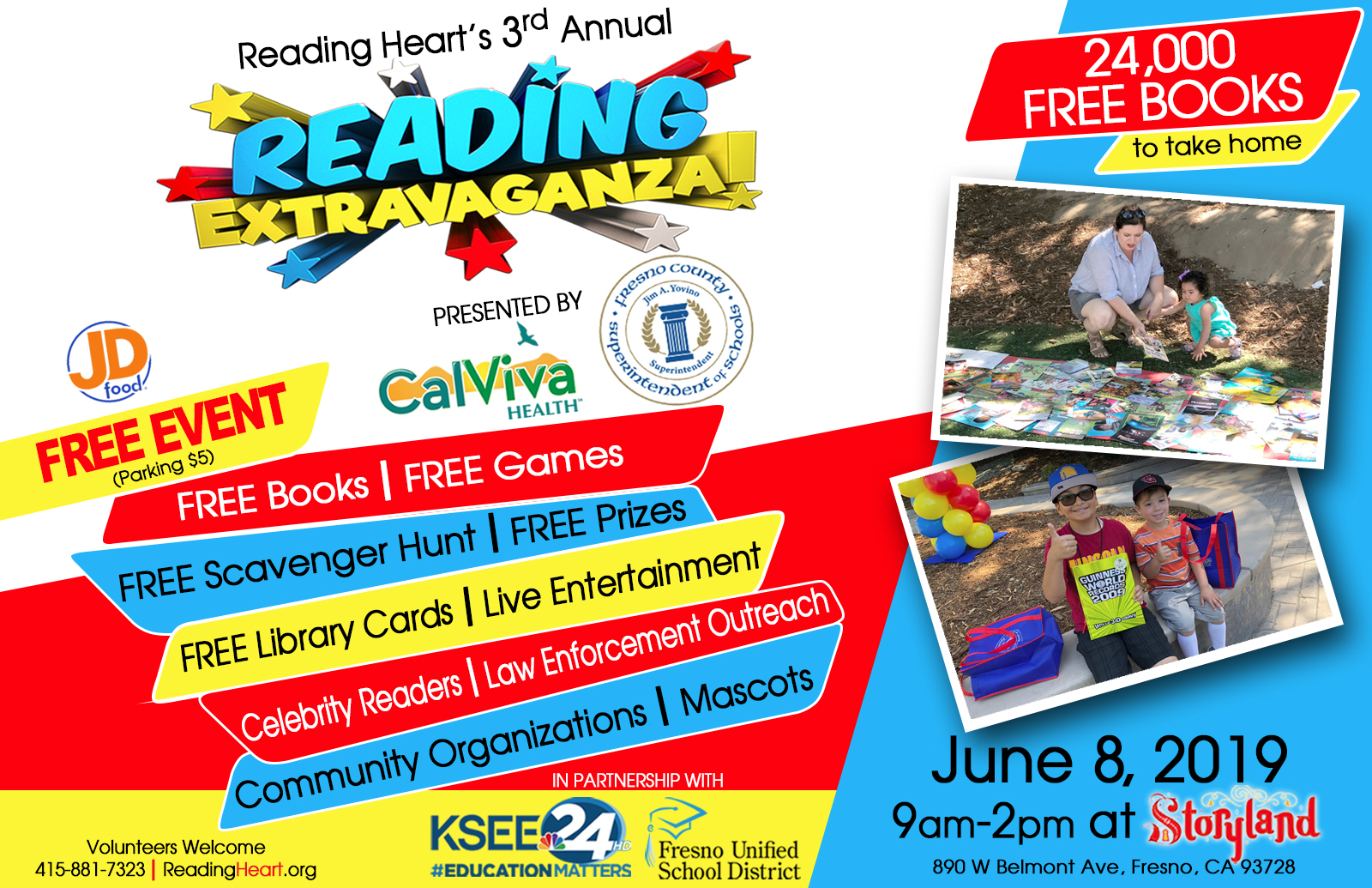 Reading Heart - A Book Donation Program